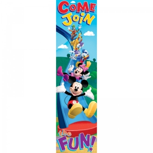 Mickey Mouse Clubhouse Come Join The Fun! Vertical Banner