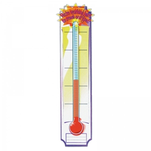 Vertical Banners, Goal Setting Thermometer