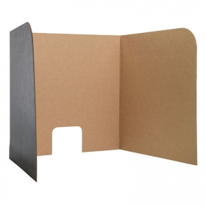 "Computer Lab Privacy Screen, Small, 22"" x 20"" x 20"", 3-Pack"