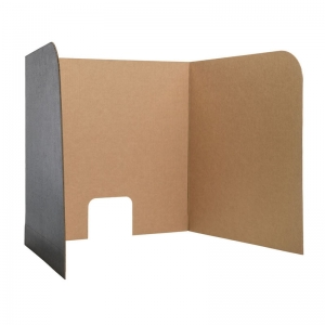 "Computer Lab Privacy Screen, Small, 22"" x 22.5"" x 20"", Pack of 12"