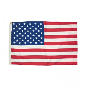 Durawavez Nylon Outdoor U.S. Flag with Heading & Grommets, 5' x 8'