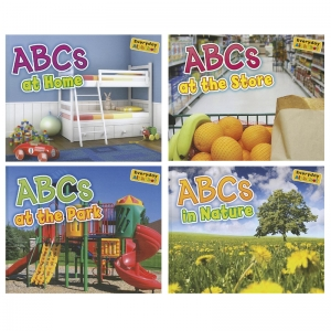Everyday Alphabet Book Set, Set of 4