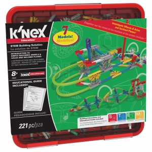 KNEX WHEELS & AXLES AND INCLINED  PLANES