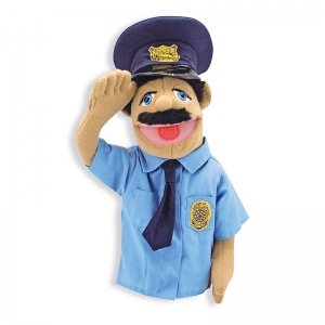 Police Officer Theater Puppet