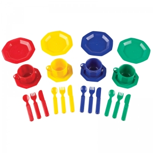 Pretend & Play® Dish Set, 24 Pieces
