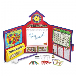 Pretend & Play School Set w/US Map
