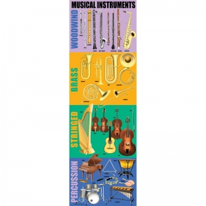 MUSICAL INSTRUMENTS COLOSSAL POSTER