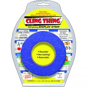 Cling Thing Display Strip, Blue