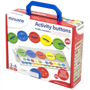 Activity Buttons, 57 Pieces