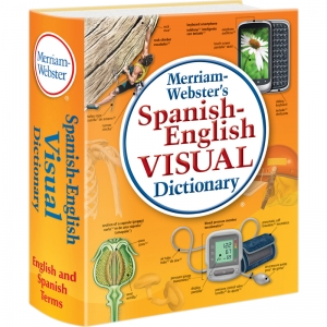 MERRIAM WEBSTER SPANISH ENGLISH  VISUAL DICTIONARY