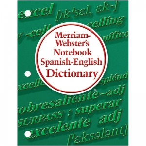 MERRIAM WEBSTERS NOTEBOOK SPANISH  ENGLISH DICTIONARY
