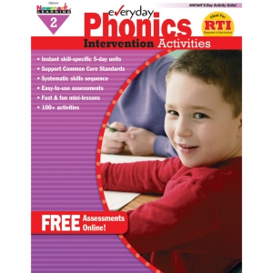 Everyday Intervention Activities for Phonics, Grade 2