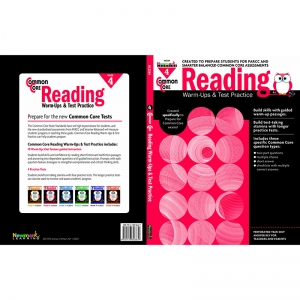 COMMON CORE READING GR 4 WARMUPS &  TEST PRACTICE