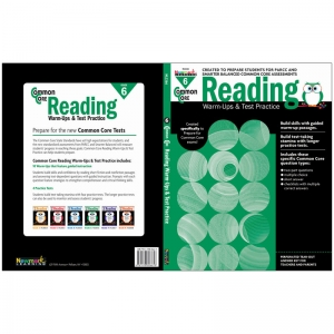 COMMON CORE READING GR 6 WARMUPS &  TEST PRACTICE