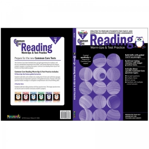 COMMON CORE READING GR 7 WARMUPS &  TEST PRACTICE