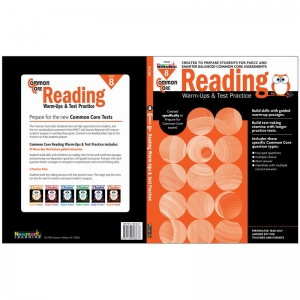 COMMON CORE READING GR 8 WARMUPS &  TEST PRACTICE