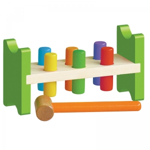 Pound a Peg Toy for Ages 2 - 6