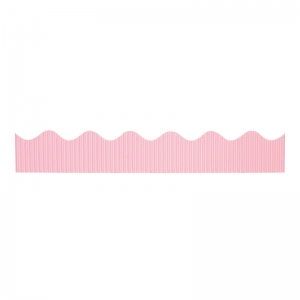 "Decorative Border, Pink, 2-1/4"" x 50', 1 Roll"