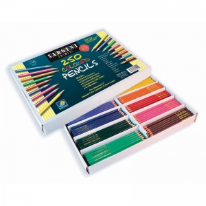 Colored Pencil Assortment, 10 colors, 250 Count
