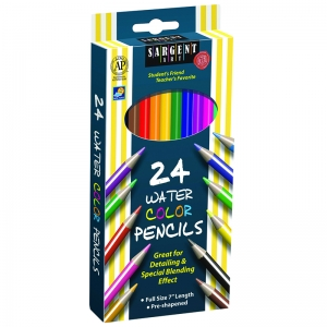 Sargent Art� Watercolor Pencils, 24 Colors