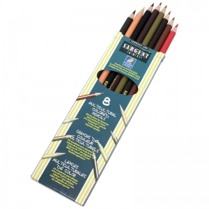 8 Ct. Multicultural colored Pencils