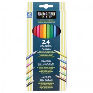 Sargent Art� Colored Pencils, 24 colors