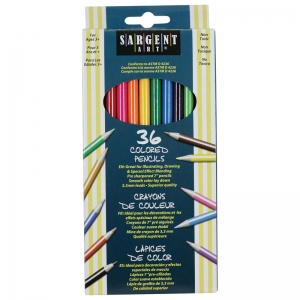 Sargent Art� Colored Pencils, 36 colors