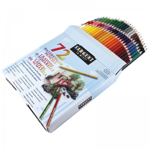 Watercolor Pencils, 36 Colors, 72 Count