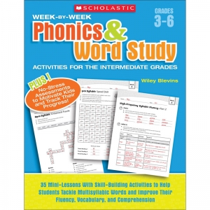 Scholastic Week-by-Week Phonics & Word Study Book