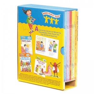 Scholastic Word Family Tales Book Box Set, Set of 25 Books