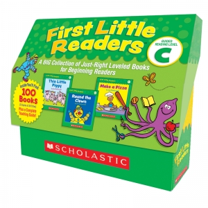 First Little Readers Books, Guided Reading Level C, 5 Copies of 20 Titles