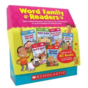 Word Family Readers Book Set, 5 Copies of 16 Titles