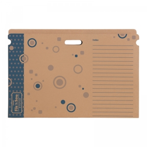 FILE N SAVE STURDY FOLDER BB  27 X 19 X 1/2