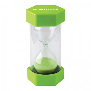 5 Minute Sand Timer - Large