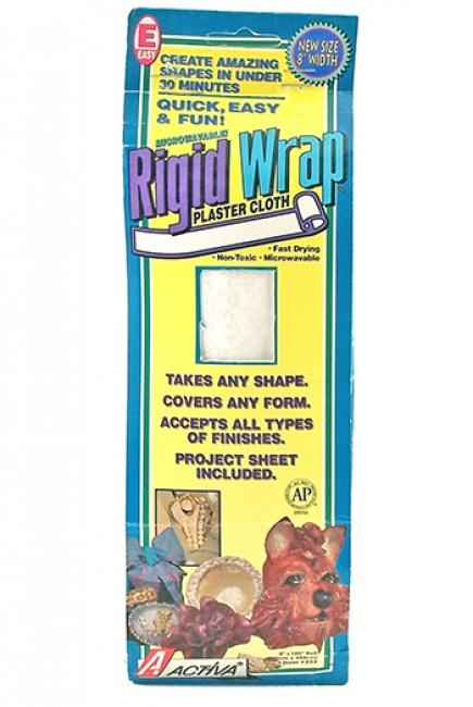 RIGID WRAP 8 INCH PLASTER TAPE
