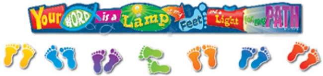 YOUR WORD IS A LAMP MINI BB SET  GR PK-3