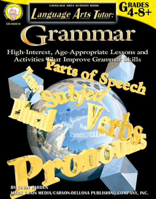LANGUAGE ARTS TUTOR GRAMMAR GR 4-8