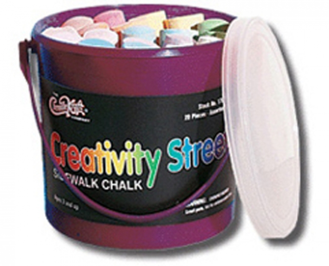 SIDEWALK CHALK 20 PIECES
