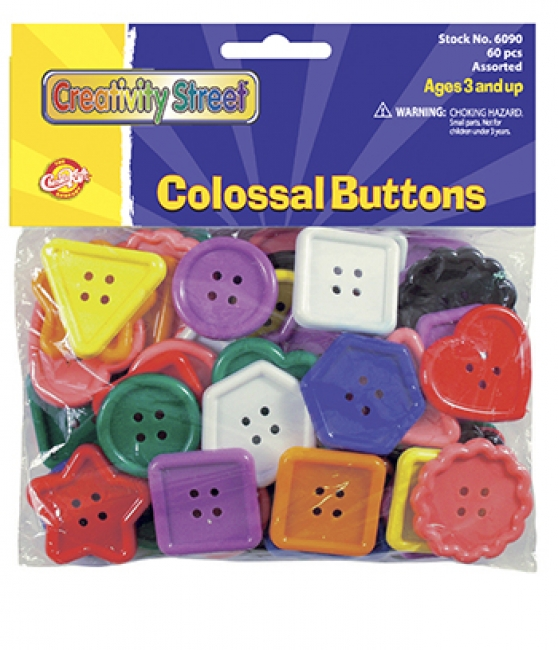 COLOSSAL BUTTONS 60 PCS