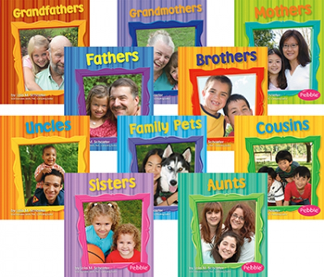 FAMILIES BOOKS SET OF ALL 10