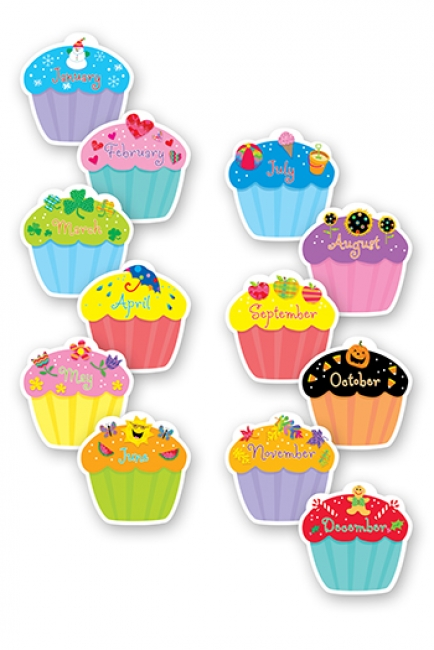 CUPCAKES DESIGNER CUT OUTS