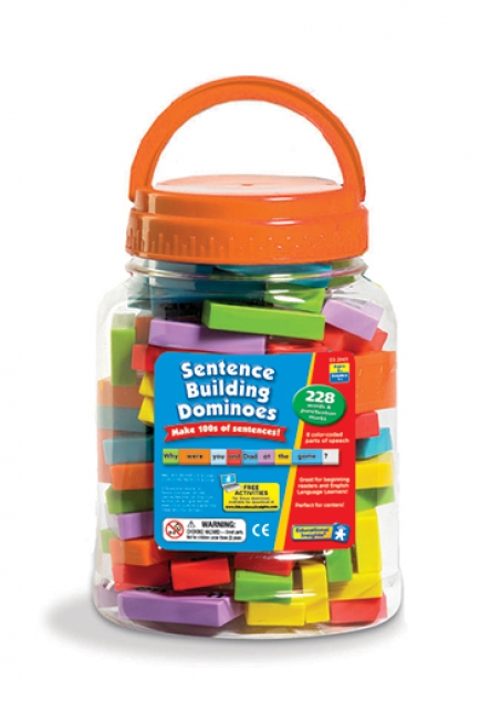 SENTENCE BUILDING DOMINOES 228 PCS
