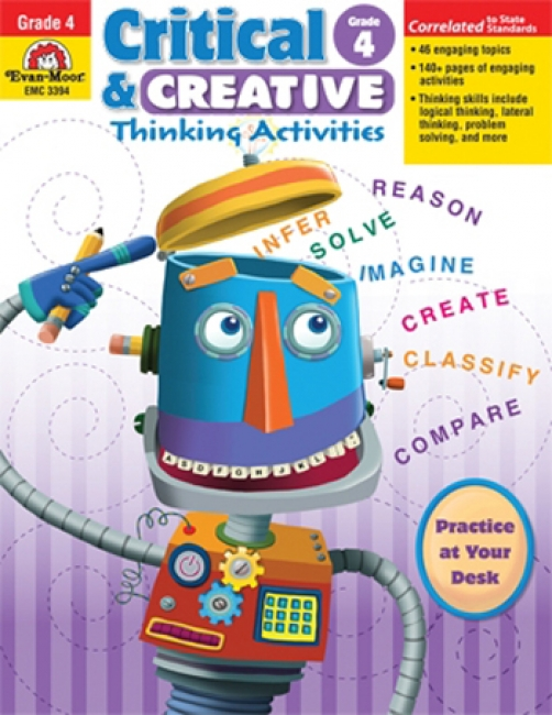 CRITICAL AND CREATIVE THINKING  ACTIVITIES GR 4