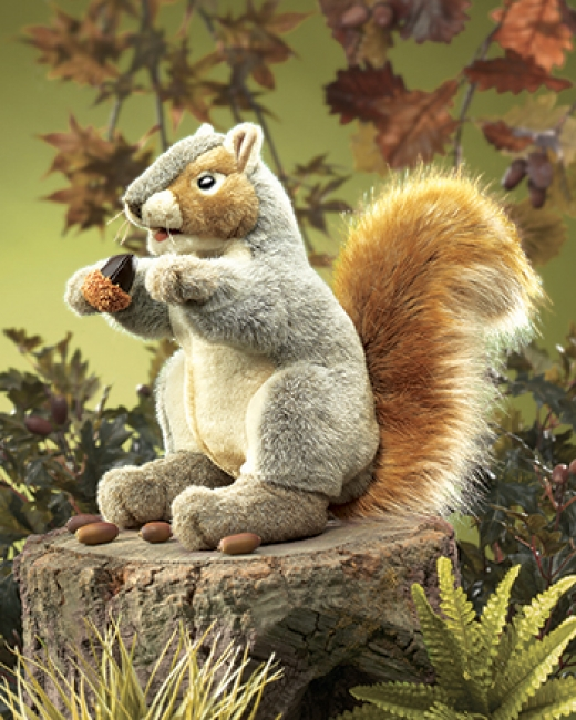 PUPPET GRAY SQUIRREL