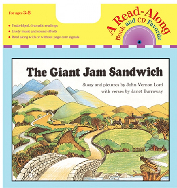 CARRY ALONG BOOK/CD THE GIANT JAM  SANDWICH