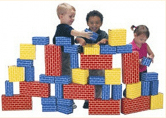 IMAGIBRICKS GIANT BUILDING 40PC SET  BLOCK SET