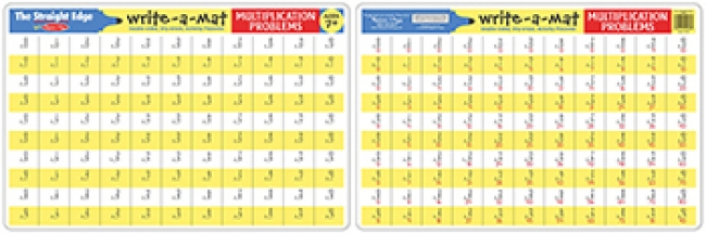 MULTIPLICATION PROBLEMS WRITE A MAT  6PK