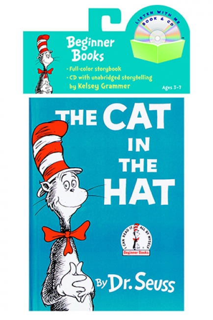 CARRY ALONG BOOK & CD THE CAT IN  THE HAT