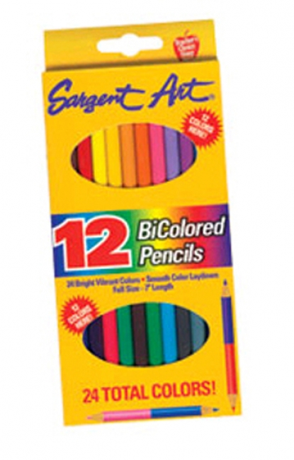SARGENT ART BICOLORED PENCILS