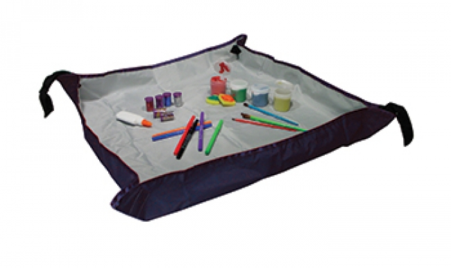 SLOPPYSTOPPER ACTIVITY MAT 18X24  WORK AREA  2-1/2 HIGH BACKSPLASH